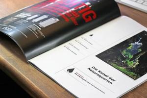 European Aquascaping Journal: das Inhaltsverzeichnis