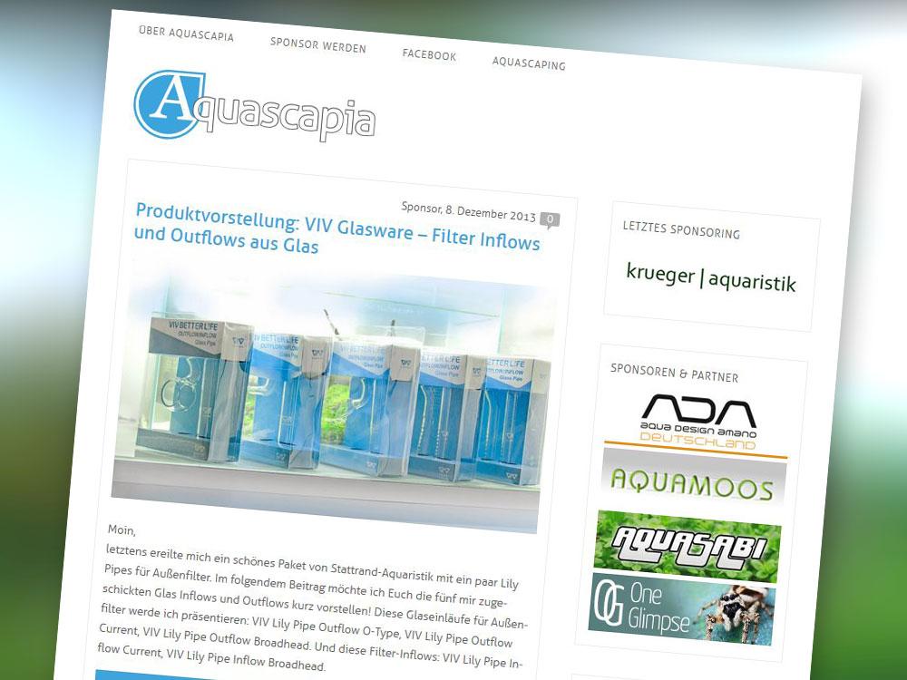 Redesign Aquascapia