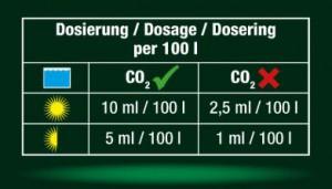 JBL Proscape Dosierung