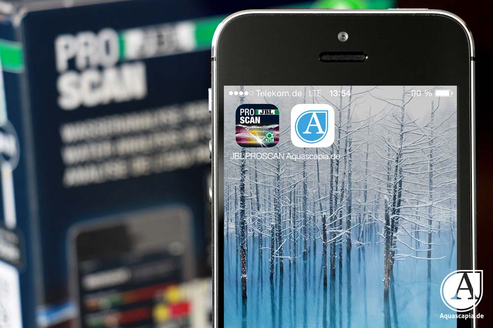 JBL Proscan App starten