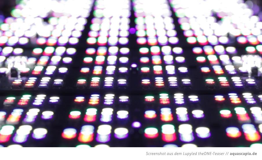 Das Lupyled theONE LED-Panel