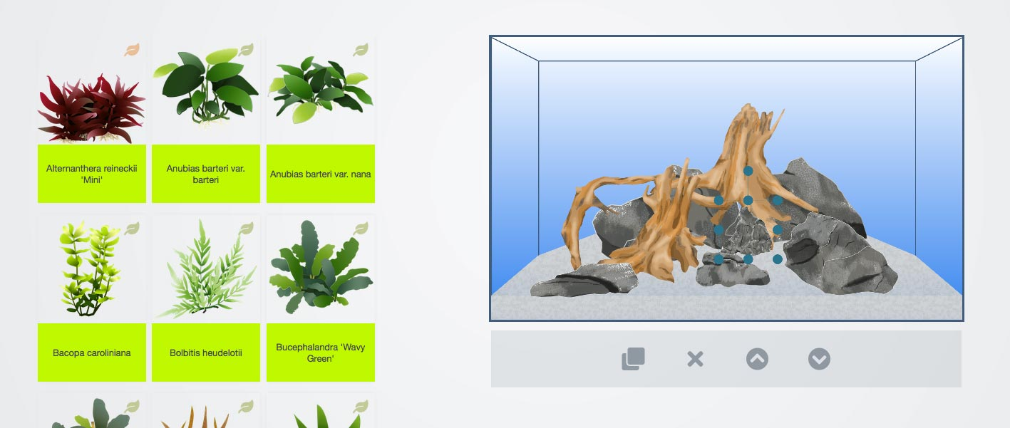 Pflanzen in Scape It